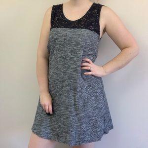 Anthropologie Lilka Esme Space Dye Navy Dress